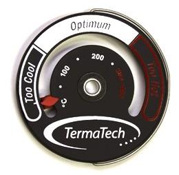 Rauchrohr Thermometer