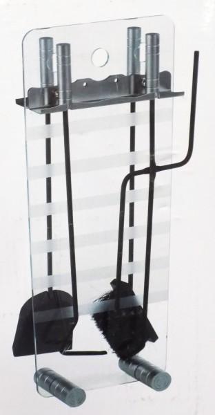 Kaminofenbesteck Glas