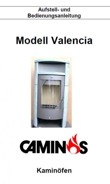 Caminos Valencia Bedienungsanleitung