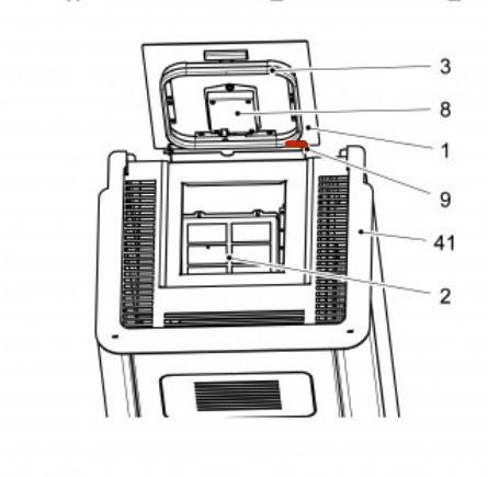 Haas+Sohn Pallazza 532.08 Tankdeckel Scharnier Bolzen Gewindestift